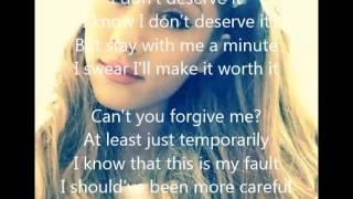 Ariana Grande - One Last Time Acoustic Version + Lyrics