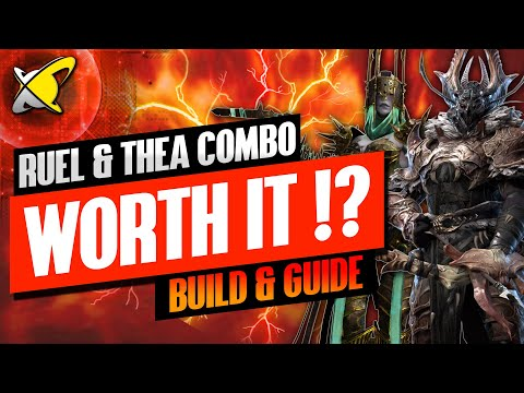 IS THE COMBO WORTH IT !? | Ruel The Huntmaster & Thea The Tomb Angel | RAID: Shadow Legends