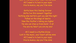 Enrique Iglesias - Rhythm Divine lyrics (HQ)