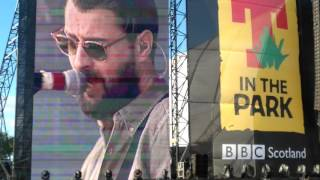The courteeners - are you in love with a notion @ t in the park 2016