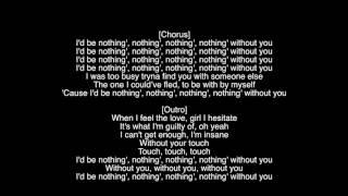 (Full Lyrics) Nothing Without You The Weeknd Album Starboy