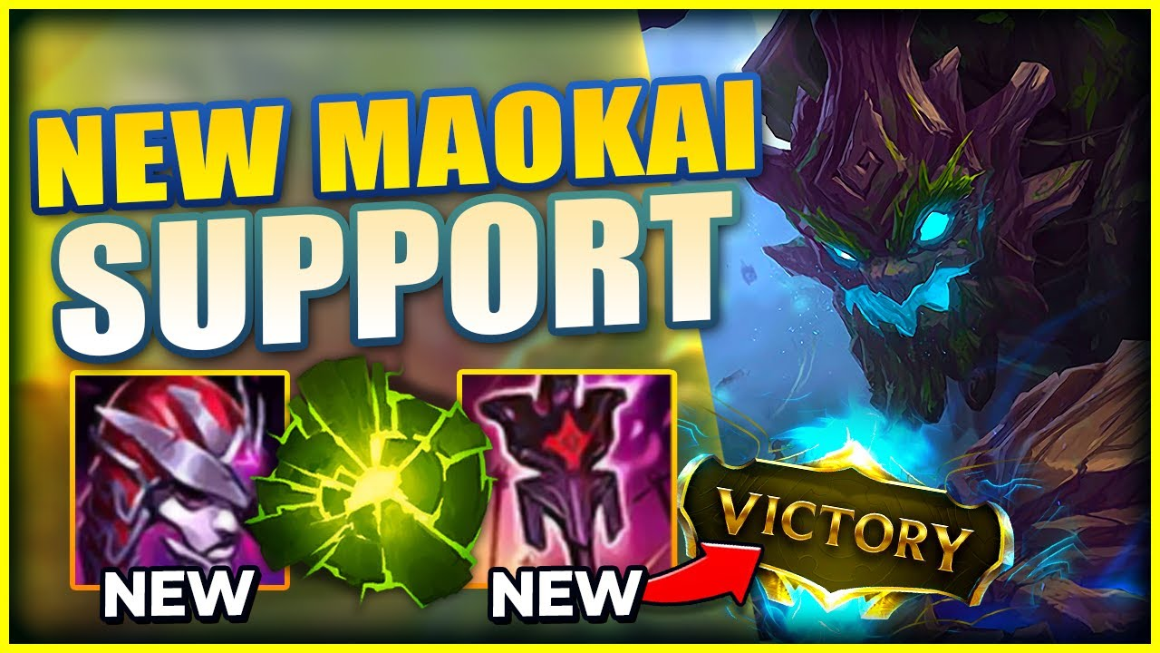 Lohpally - THIS NEW AP MAOKAI SUPPORT IS WRECKING CHALLENGER GAMES - League of Legends