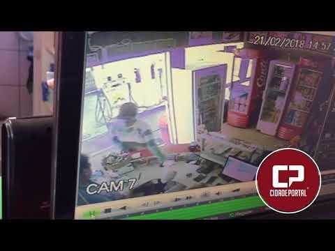 Posto de combustível foi alvo de assalto em Moreira Sales - Cidade Portal