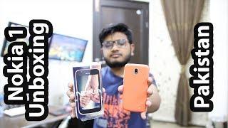 Nokia 1 Unboxing & Price In Pakistan! width=