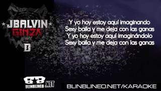 Karaoke: J Balvin - Ginza (LETRAS)