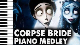 Corpse Bride: Piano Duet, Victor's Piano Solo ~Medley~