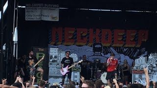 "Neck Deep - ""Motion Sickness"" (Live) Vans Warped Tour Chicago, IL 7/22/2017"