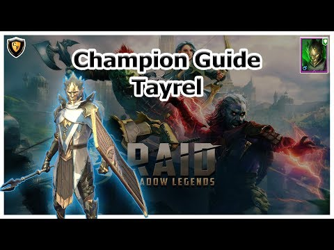 RAID Shadow Legends | Champion Guide | Tayrel