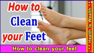 How to care your feet