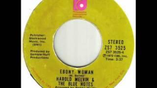 Harold Melvin & The Blue Notes - Ebony Woman.wmv