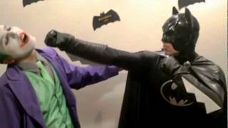 Personagens Batman e Coringa Cover- Tio Girafa - Eólica Eventos