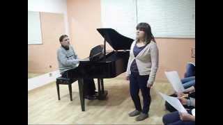 Por amarte así - Cristian Castro (by Cristina Cimadevila) Escola de Estudos Musicais Allegro.T