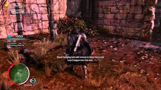 Middle-earth Shadow of Mordor furst vid