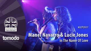 Manel Navarro & Lucie Jones - In The Name Of Love | London Eurovision Party 2017