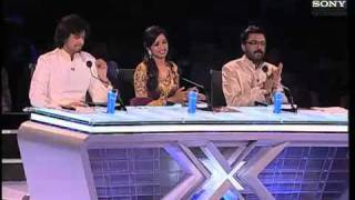 X Factor India - Sahiti's astonishing performance on Jiya Jale- X Factor india - Episode 9 -  11th June 2011 width=