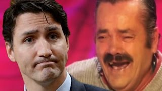 Spanish Laughing Guy talks about Justin Trudeau's accomplishments as PM!