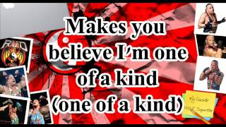 "Rob Van Dam theme song 2014 ""One Of A Kind"" with lyrics"