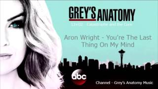 Grey's Anatomy Season 13 Episode 02: Aron Wright - You're the last thing on my mind