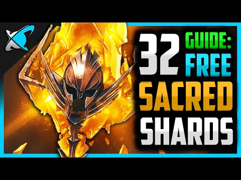 "HOW TO GET 32 ""FREE"" SACRED SHARDS 
