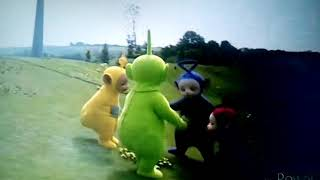 Teletubbies - The Tap Dancing Teddy Bear in a Carousel