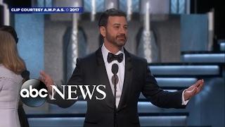 Oscars host Jimmy Kimmel's funniest moments