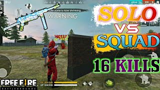 Best Pro Tips For Solo vs Squad in free fire|Tips and tricks For booyah in tamil | 16 KILLS -PVS🇮🇳