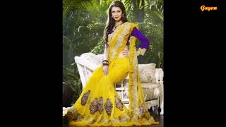 karwa chauth  saree designs करवा चौथ साडी