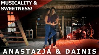 Langeshakes - Love Ya / Anastazja & Dainis Urban Kiz Dance / Kizomba Musicality & Sweetness