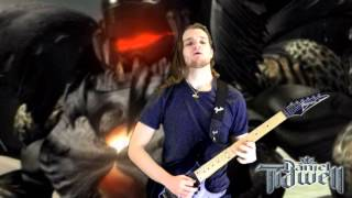 Final Fantasy VII Boss Battle Theme on guitar (Those Who Fight Further) - FF7 FFVII - Metal/Rock