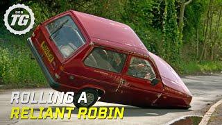 Rolling a Reliant Robin - Top Gear - BBC width=