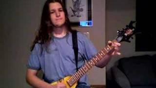 Final Fantasy VII Battle Theme on guitar