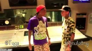 Soulja Boy ft Tyga - Be Quiet (Music Video)