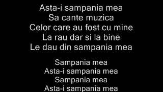 ADDA-Sampania mea(Lyrics)