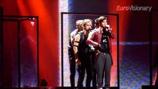 Eric Saade - Popular - Eurovision 2011 - Sweden - Final dress rehearsal