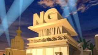 Nanogalaxy 20th Century Fox Style Animated Intro 3D