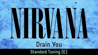 Nirvana - Drain You (backing track for guitar, standard tuning E)