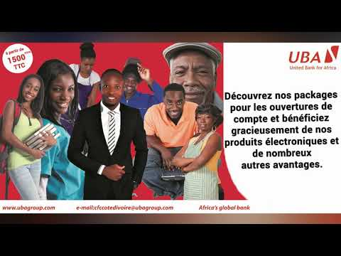 Produits et services de la banque UBA Côte d'Ivoire