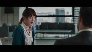 """Cinquante Nuances de Grey / Extrait 1 """"L'interview"""" VF [Au cinéma le 11 février]"""