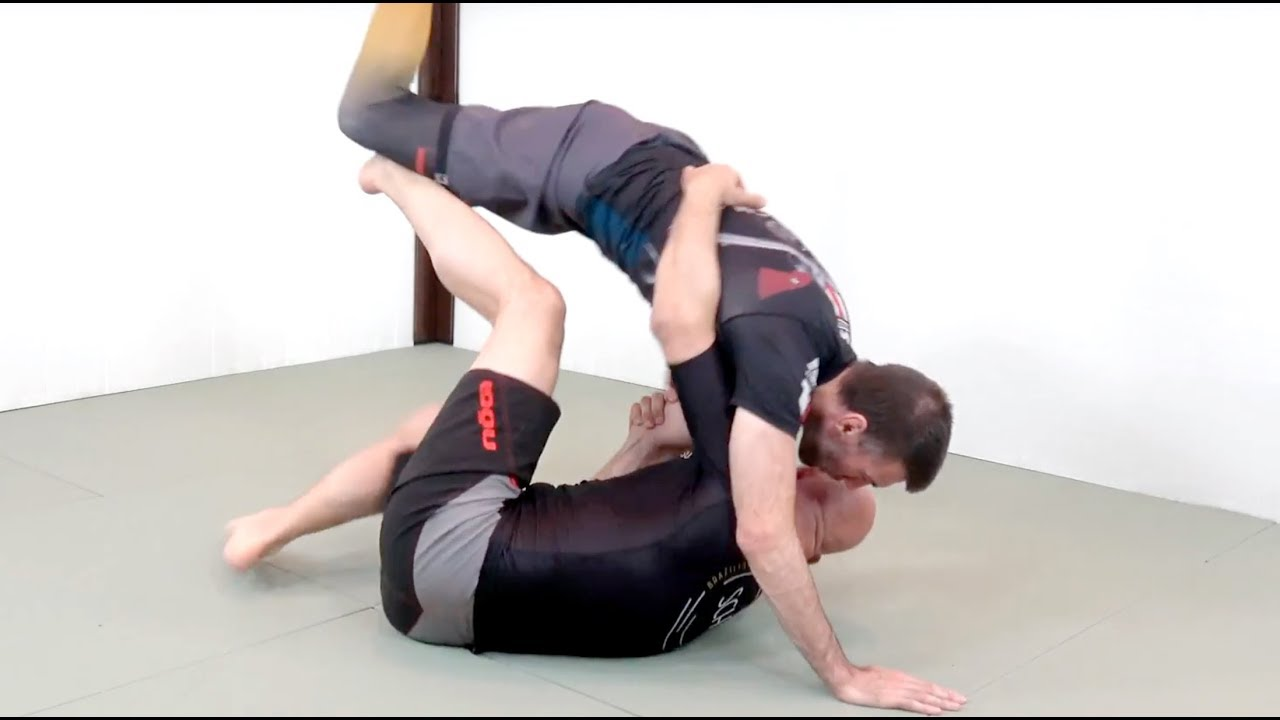 Half Butterfly Guard Position