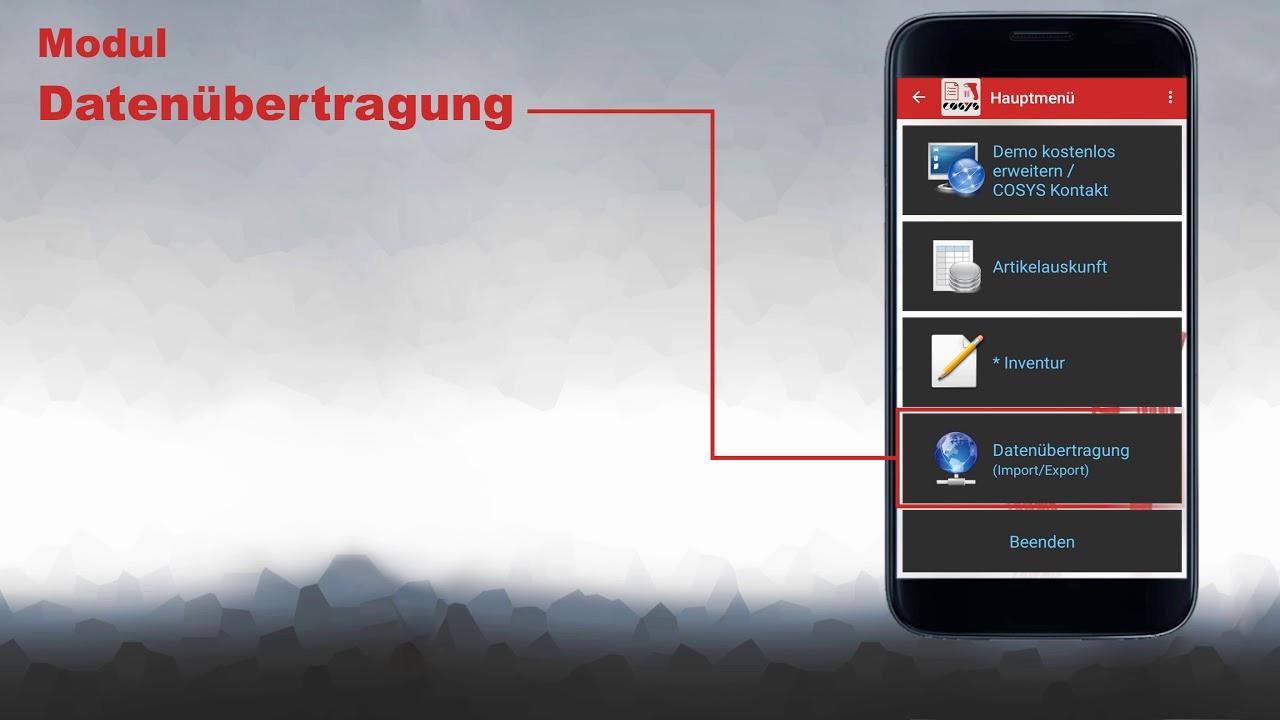 Inventur App für Android und iOS Smartphones | COSYS Inventur App