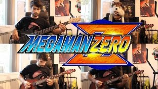 Megaman Zero 4 goes Rock - Falling Down (final boss theme)