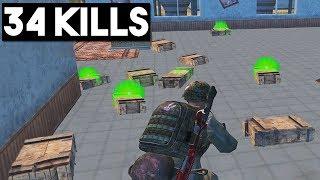 ALMOST NEW RECORD!! | 34 KILLS SOLO vs SQUADS | PUBG Mobile 🐼