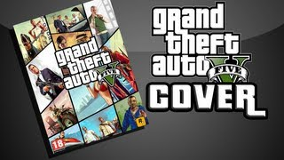 GTA V [ROCKSTAR] Creat your own COVER (Photoshop)