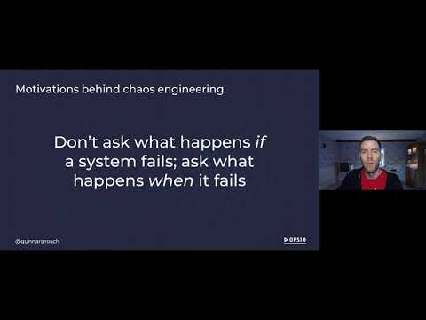 Performing chaos in a serverless world • Gunnar Grosch • Failover Conf 2020