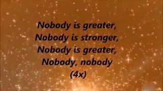 Alex Holt and Free Worship - Nobody (Lyrics)