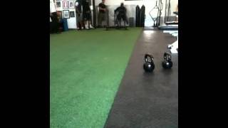 Darrelle Revis doing conditioning at Body Chemistry Sports