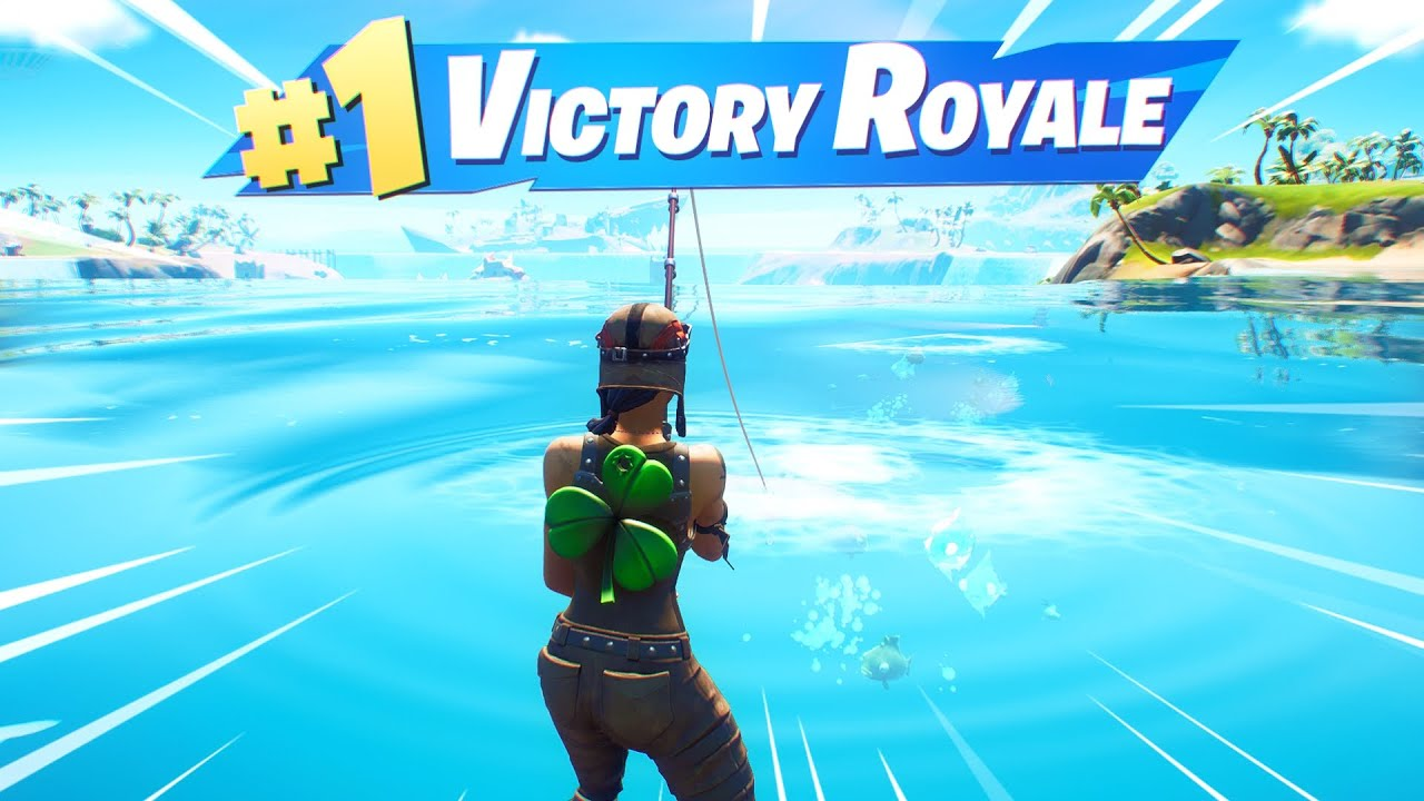 SoaR Smacks - Fortnite but I can only win with fishing loot... (Season 4)