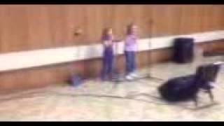 """Raven and Violet singing """"That's Not My Name"""""""