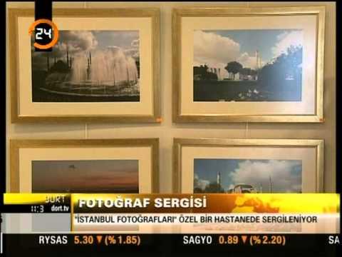 ''Gözden Kalbe'' İstanbul Fotoğrafları Sergisi / TV. 24 / 2008