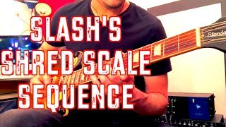 Slash's Shred Scale Sequence